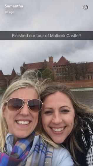 Sam visit Malbork castle