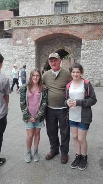 Krakow Dad and girls