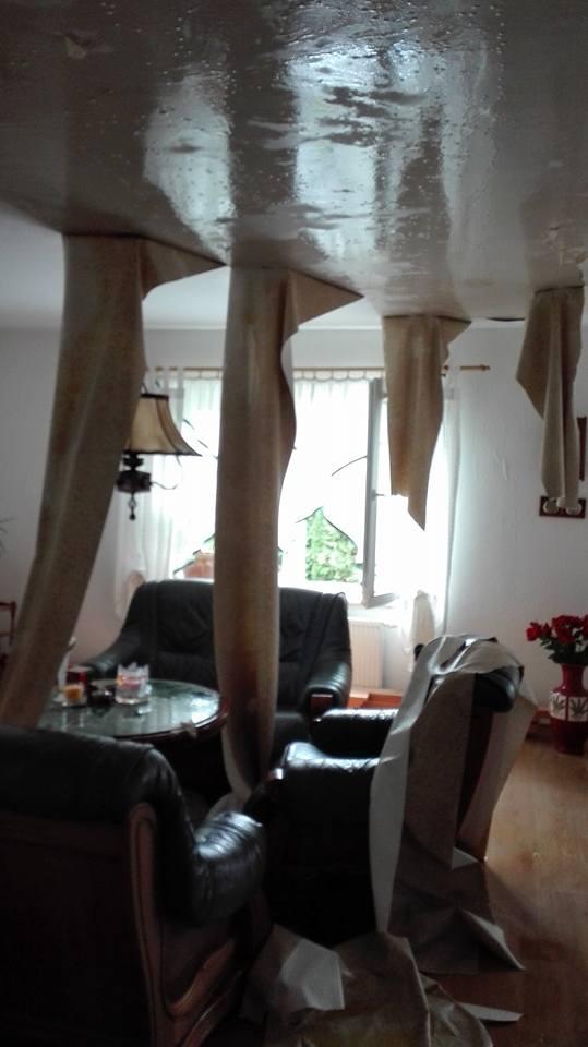 House Flood Artur's living room