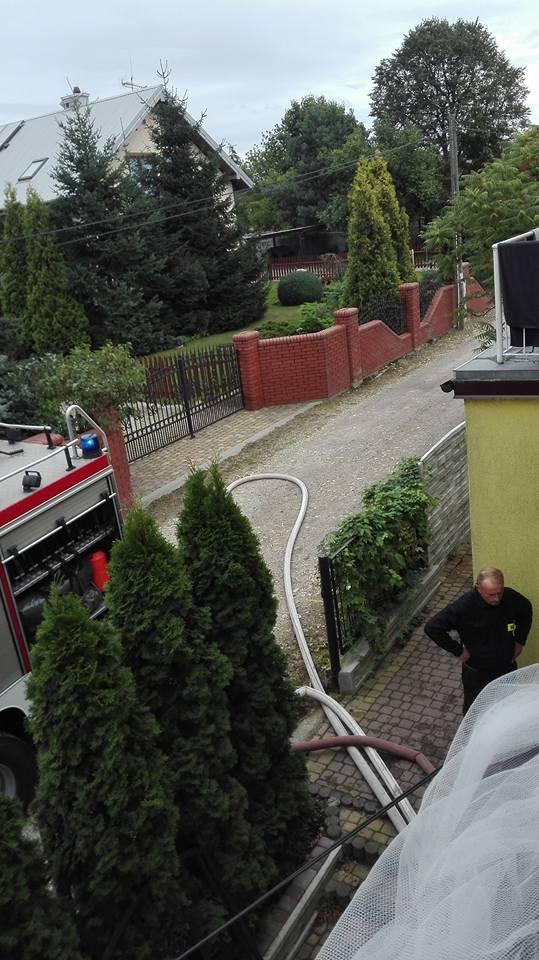 House Flood firetruck